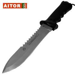 Aitor - Commando Military Knife - Black-Tactical.com