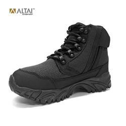"Altai - MF Super Fabric Hiking Boots 6"" (BK Fabric) Side Zip - Black-Tactical.com"