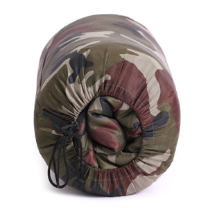 Military Surplus - Camouflage Sleeping Bag