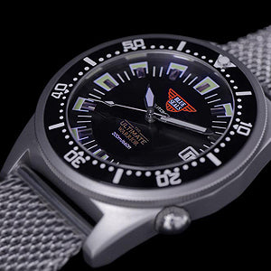 Blue Seals - The Ultimate Warrior Automatic Watch (Black)