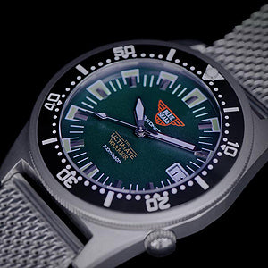 Blue Seals - The Ultimate Warrior Automatic Watch (Green)