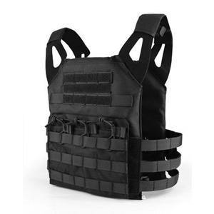 Black Stealth - Tactical Plate Carrier Vest - Black-Tactical.com