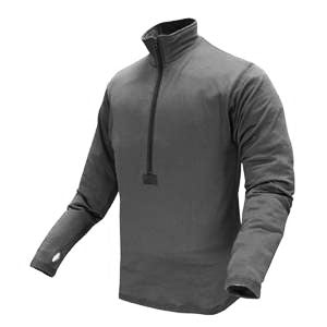 Condor - BASE II Zip Pullover (Black)