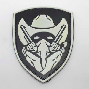 Rubber Patch - Cowboy Gunslinger (Glow in the Dark)