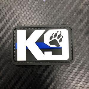 Rubber Patch - K9 Paw