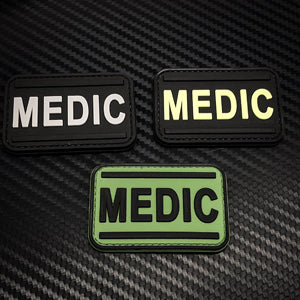 Rubber Patch - Medic Word