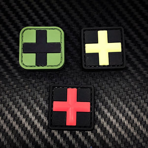 Rubber Patch - Medic Cross