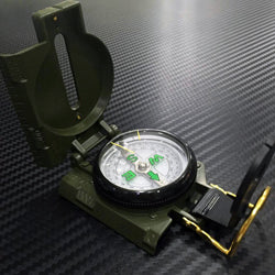 Military Lensatic Compass (Aluminum)