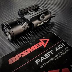 Opsmen - FAST 401 Ultra-High-Output LED Weaponlight - Black-Tactical.com