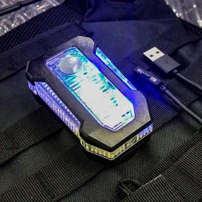 Black Stealth - Police Security Safety Beacon (Professional) V2 - Black-Tactical.com