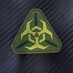 Rubber Patch - Biohazard (Triangle)
