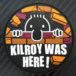 Rubber Patch - Kilroy Was Here - Black-Tactical.com