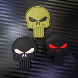 Rubber Patch - Punisher Skull