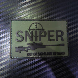 Rubber Patch - Sniper Out of Sight out of Mind