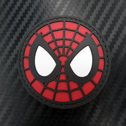 Rubber Patch - Spiderman Mask - Black-Tactical.com