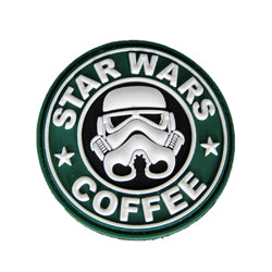 Rubber Patch - Star Wars Coffee