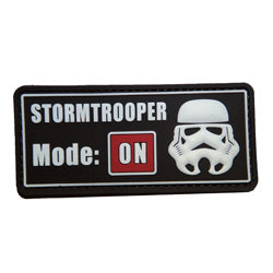 Rubber Patch - Stormtrooper Mode On