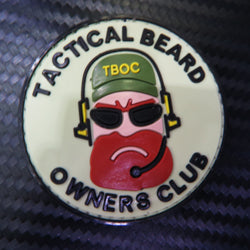 Rubber Patch - Tactical Beard Owners Club