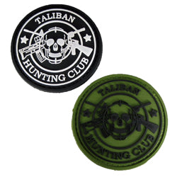 Rubber Patch - Taliban Hunting Club Skull