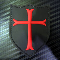 Rubber Patch - Templar Shield