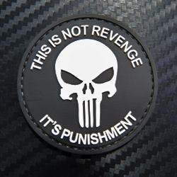 Rubber Patch - This is not Revenge it's punishment