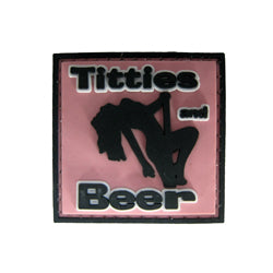 Rubber Patch - Titties and Beer