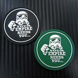 Rubber Patch - Your Empire Needs You - Black-Tactical.com