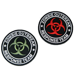 Rubber Patch - Zombie Outbreak Response Team (Biohazard)