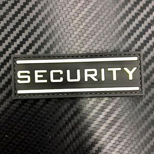 Rubber Patch - Security Large (Glow in the Dark) - Black-Tactical.com