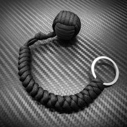 Tactical 550 Paracord Steel Ball Monkey Fist