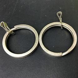 Key Ring Titanium (2pcs) - Black-Tactical.com