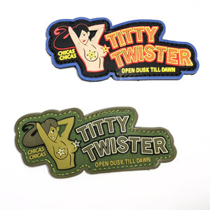Rubber Patch - Titty Twister