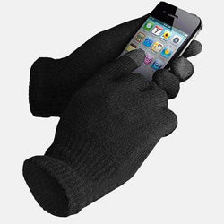 Black Stealth - Cold Weather Touch Screen Gloves