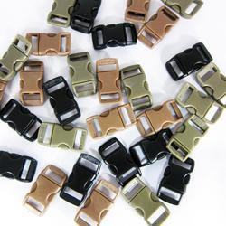 "Xtreme - Polymer Buckles (3/8"") (10pc) - Black-Tactical.com"