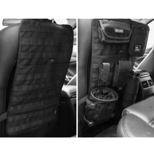 Black Stealth - Molle Panel for Car Seat (ZJ073)