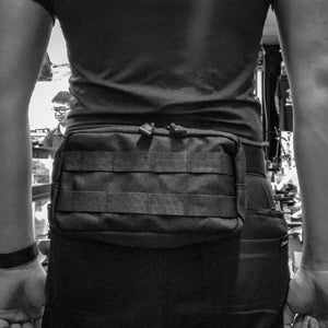 Black Stealth -  Tactical Molle Utility Pouch (ZJ092)