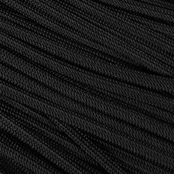 Black Stealth - 550 Paracord (4mm)(30m)