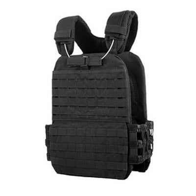 Black Stealth - Tactical Plate Carrier Vest Break Away