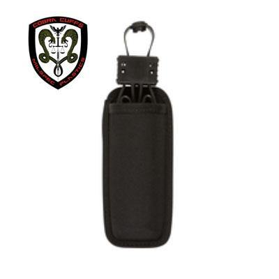 MilSpec Plastics - Cobra Cuff Sheath Open Top - Black-Tactical.com