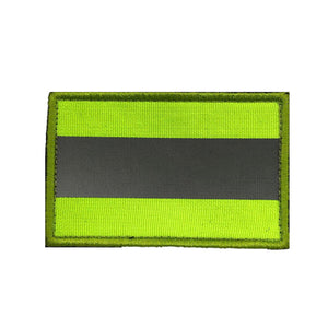 Reflective Patch -  Luminous Yellow Stripes