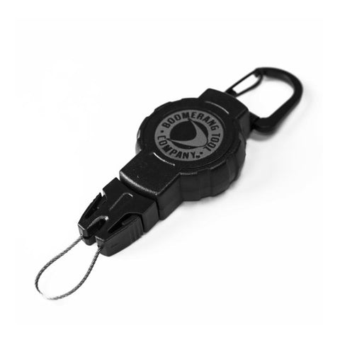Boomerang Tool Company - Tactical Retractable Gear Tether Carabiner (S) 24""