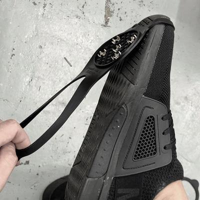 Silicone Slip on Snow / Ice Spikes /Cleats for Shoes / Boots - Black-Tactical.com