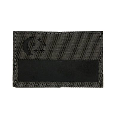 Infrared Patch -  Singapore Black