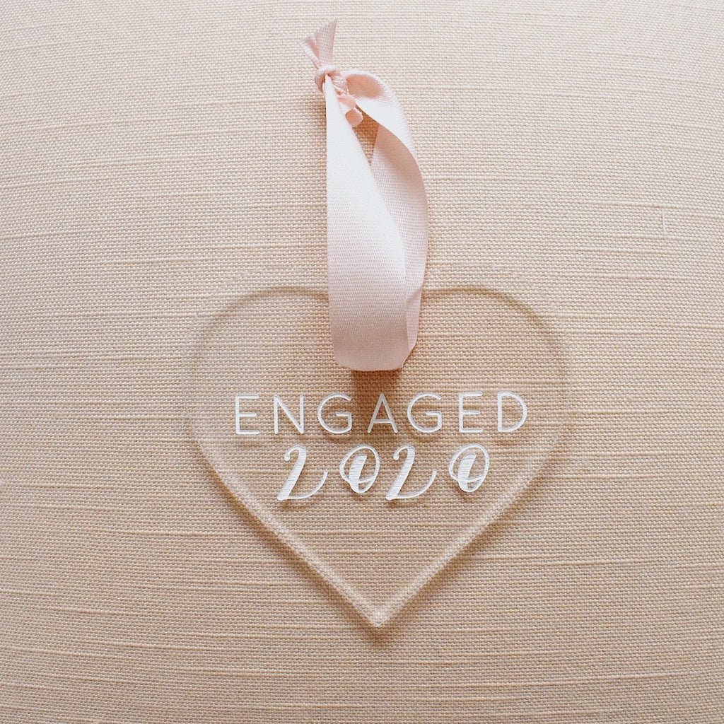 Engaged 2020 Holiday Ornament