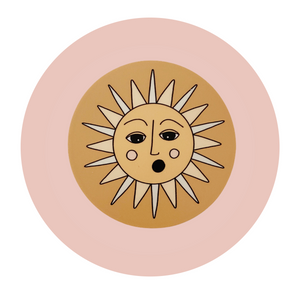Surprised Sun Sticker