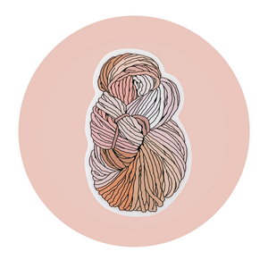 Squishy Skein Sticker