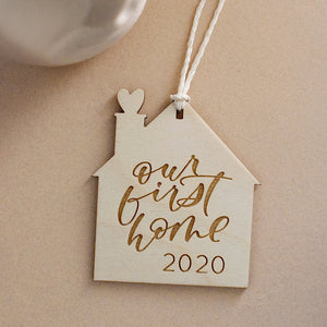 Our First Home 2020 Holiday Ornament