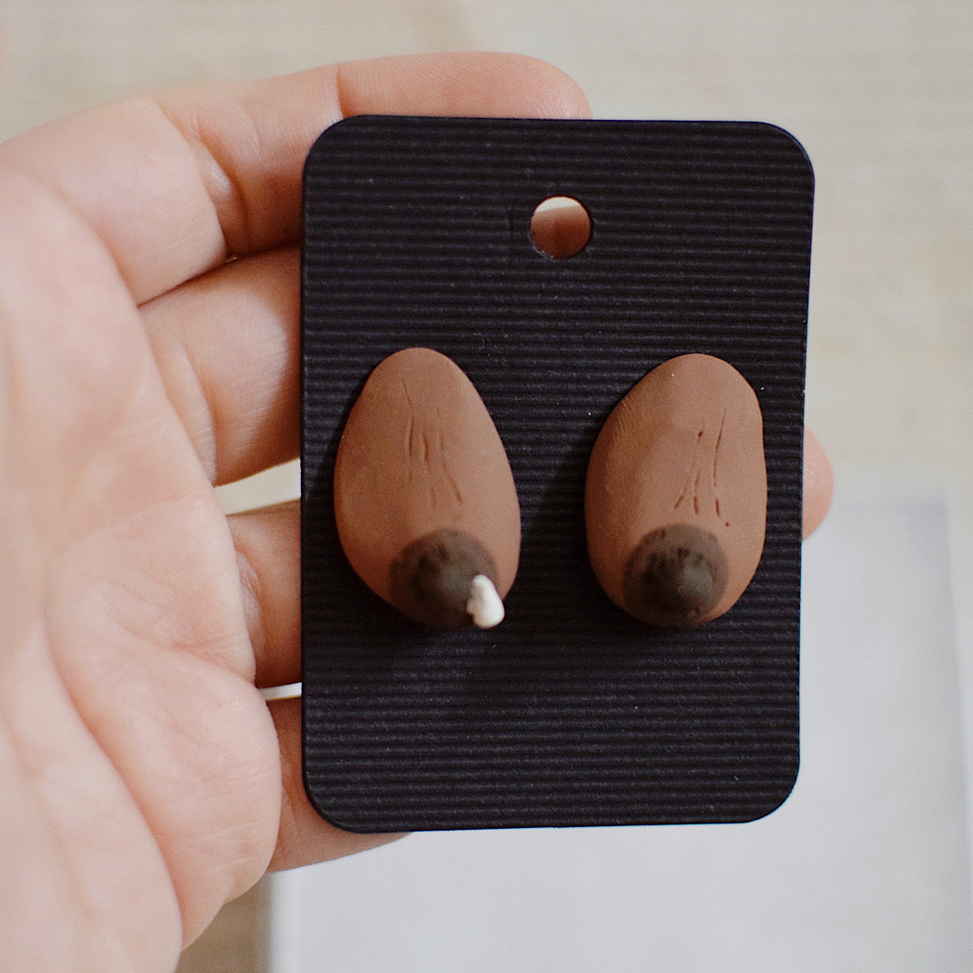 Tata Post Earrings - Pair 57