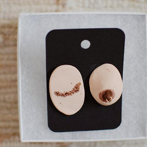 Tata Post Earrings - Pair 1