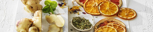 Roasted Citrus, Ginger and Lemon Myrtle Tea